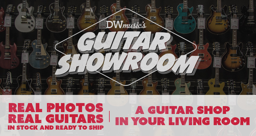 DW Music Guitar Showroom