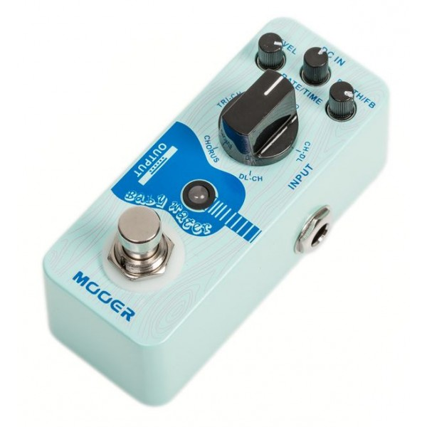 mooer baby water acoustic guitar chorus and delay effect pedal. Black Bedroom Furniture Sets. Home Design Ideas