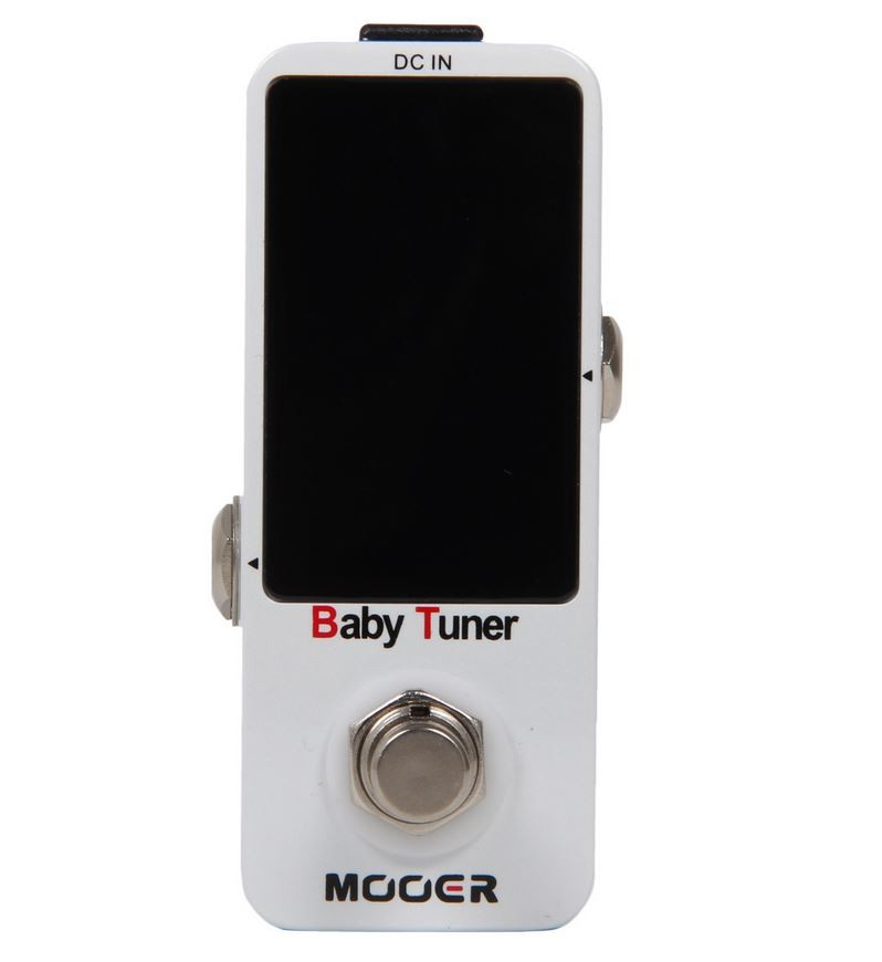 Mooer Baby Tuner Guitar / Bass Tuner Effects Pedal