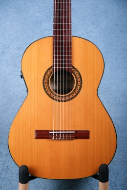 Admira 2000FI Acoustic Electric Classical Guitar w/ Case - Preowned