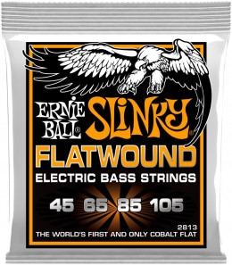 Ernie Ball 2813 Hybrid Slinky Flatwound Bass Strings