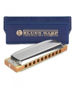 Hohner 532 Blues Harp MS-Series Harmonica - A Key