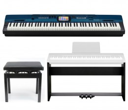 Casio PX560MBE Privia Stage Piano Kit - Metallic Blue