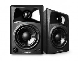 "M-Audio AV42 20-Watt Compact Studio Monitor Speakers w/ 4"" Woofer"