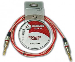 Carson Pro 5 foot Speaker Cable - 6.3mm Jack