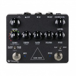 Keeley Dark Side Modern Fuzz Delay and Modulation Guitar Effect Pedal