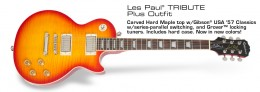 Epiphone Les Paul Tribute Plus 60s - Faded Cherry Sunburst
