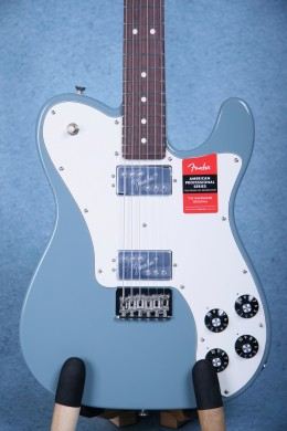 Fender American Professional Telecaster Deluxe Shawbucker Electric Guitar - Sonic Grey US16088819