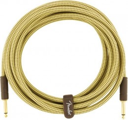 Fender Deluxe Series Instrument Cable Straight/Straight 18.6 Tweed