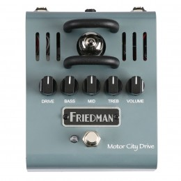 Friedman Motor City Drive Tube Overdrive Guitar Effect Pedal