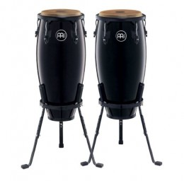 "Meinl Headliner Series 11"" and 10"" Conga Set - Black Finish"