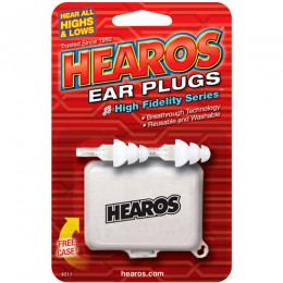 Hearos HS211 High Fidelity Musicians Earplugs