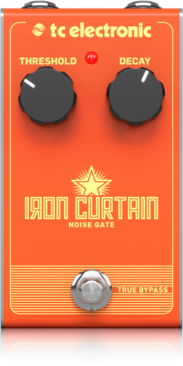 TC Electronic Iron Curtain Noise Gate Guitar Effect Pedal