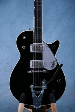 Gretsch Duo Jet G6128T Jet Black Bigsby w/ Hardcase - Preowned
