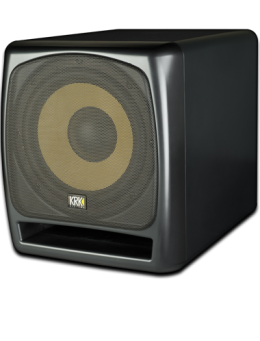 "KRK 12S 12"" 240 Watt Powered Studio Monitor Subwoofer"