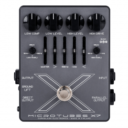 Microtubes X7 Bass Preamp Pedal