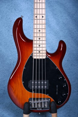 Ernie Ball Musicman Stingray 5 Electric Bass Guitar - Honey Burst E97673