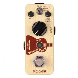 Mooer Woodverb Acoustic Guitar Reverb Effect Pedal