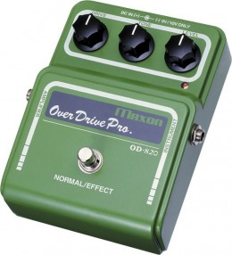 Maxon OD820 Overdrive Pro Guitar Effects Pedal