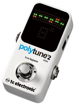 TC Electronic Polytune Mini 2 Guitar Pedal Tuner