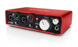 Focusrite Scarlett 2i2 USB Audio Interface Gen 2