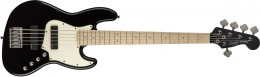 Squier Contemporary Active Jazz Bass HH 5-String Maple Fingerboard, Black