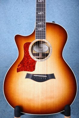 Taylor Custom 414ce Limited Edition Burst Left-Handed Acoustic-Electric - 1101248086
