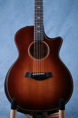 Taylor Builder's Edition 614ce V-Class WHB Grand Auditorium Acoustic Electric Guitar - 1102019059