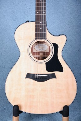 Taylor 312ce Grand Concert Acoustic Electric Guitar 1110307052