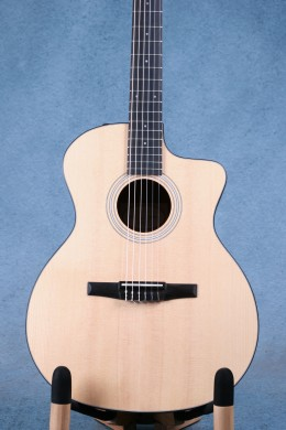 Taylor Grand Auditorium 114ce-N Nylon String Classical Acoustic Electric Guitar - 2104109004