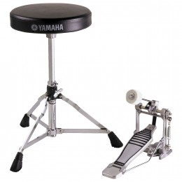 Yamaha FPDS2A Foot Pedal and Drum Throne Package