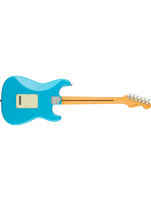 Fender American Professional II Stratocaster Left-Hand Miami Blue Electric Guitar
