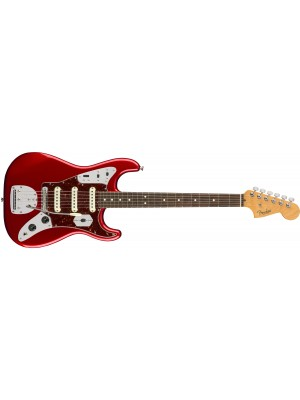 Fender Limited Edition Jag Stratocaster Rosewood Fingerboard Candy Apple Red Electric Guitar