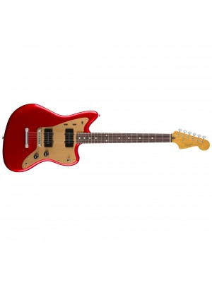 Squier Deluxe Jazzmaster ST Electric Guitar - Candy Apple Red