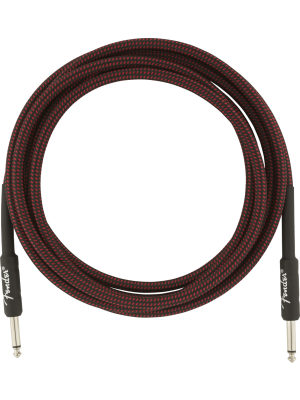 Fender Professional Series Instrument Cable Red Tweed 10' - 0990820061
