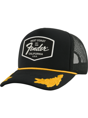 Fender Scrambled Eggs Hat Black - 9190149001