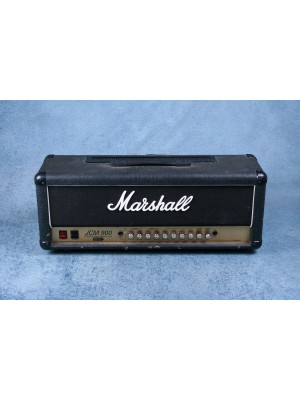 Marshall JCM900 4100 100w Hi Gain Dual Reverb Amplifier Head - Preowned
