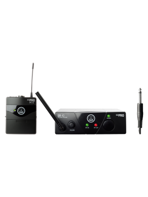 AKG WMS40 Mini Single Instrumental Set Wireless Microphone System