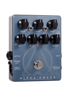 Darkglass Electronics Alpha Omega Dual Bass Preamp / Overdrive Pedal