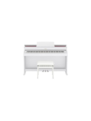 Casio CELVIANO AP470WE Digital Piano - White Wood Tone Finish