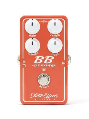 Xotic Effects BB PreAmp V1.5 Effects Pedal
