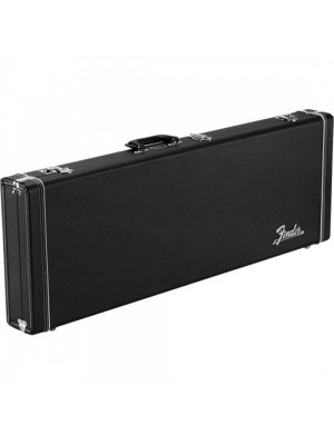 Fender Classic Series Wood Case - Strat/Tele Black