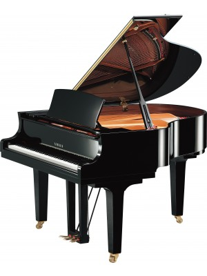 Yamaha C1X 161cm Grand Piano (Polished Ebony)