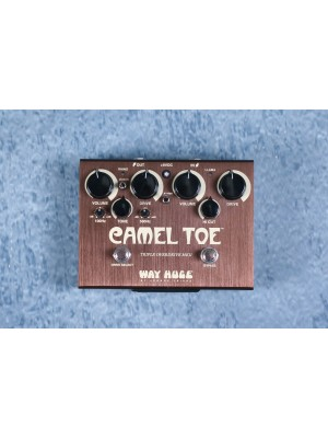 Way Huge Camel Toe Triple Overdrive Effects Pedal - Preowned