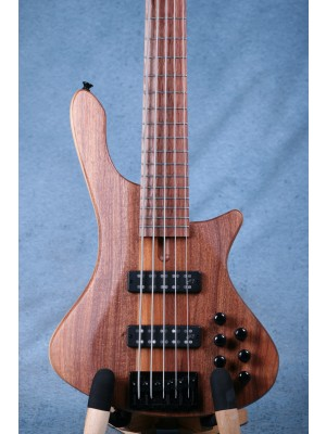 Cole Clark LLB5-BL Long Lady 5 String Bass Guitar - 122