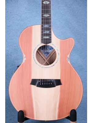 Cole Clark AN3EC-RDBL Angel 3 Acoustic Electric Guitar - 17035681