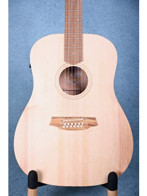 Cole Clark FL1E-12-BM Fat Lady 1 Acoustic-Electric 12 string Guitar - 180234385