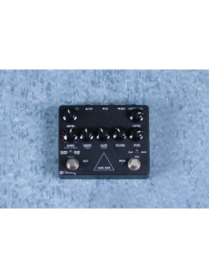 Keeley Dark Side Modern Fuzz Delay and Modulation Guitar Effect Pedal - Preowned