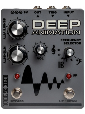 Death By Audio Deep Animation Envelope Filter Guitar Effects Pedal