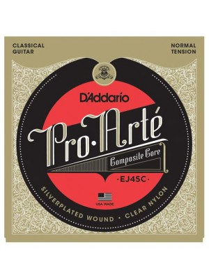 D'Addario EJ45C Pro-Arte Composites Normal Tension Classical Guitar Strings